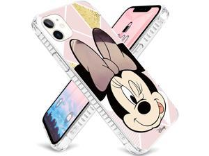 Disney authentic authorized Minnie soft back TPU soft case protective cover is drop-resistant, reduces impact holes. Accurately applies to iPhone 11/11 Pro / 11 Pro MAX (3 packs)