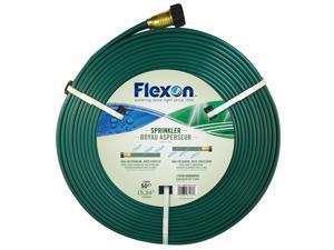 Flexon 50ft Three Tube Sprinkler Garden Hose