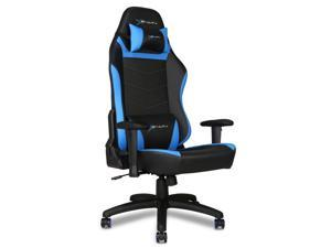 EWin Gaming and Office Chair KTC Knight Series Ergonomic With Head and Back Pillows (Black and Blue)