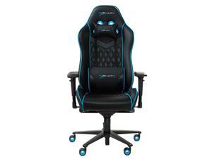 EWin Gaming and Office Chair CPF Champion Series Ergonomic Chair With Pillows (Black and Blue)