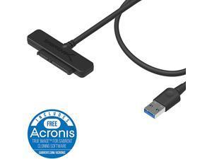 USB 30 to SSD 25Inch SATA IIIIIIHard Drive Adapter ECSSHD