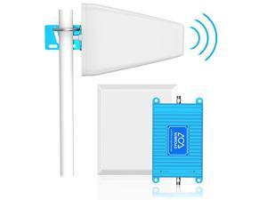 Verizon Signal Booster 4G LTE Cell Phone Signal Booster  700Mhz Band 13 Mobile Cellular Repeater Amplifier Kit for Home Office Signal Extend Coverage Up to 5000 Sq Ft