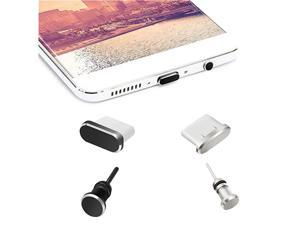 Antidust Plugs Caps Compatible for Type C Charging Port and Earphone Jack AntiDust Pluggy for Type C Devices As Samsung Galaxy Note 89S9S9+S10S10+HTC 10U11U11+ OnePlus 55T66T