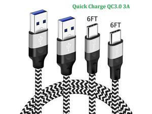 Samsung Galaxy S10E S10 S10+ S20 Plus A71 5G 10 10e 20 Note 8 9 A10E A70 S10 Lite Charger CordUSB C Charging Cable Moto G6 G7 Power Z2 Z3 Z4Nokia 71 6131 CFast Charge Phone Wire 6FT6FT