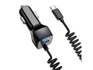 C Car Charger Compatible Samsung Galaxy S10 S10+ S10e S21 S20 S9 S8 S9+ S8 Plus Note 10 Plus1089 Car Charger Google Pixel XL22 XL33 XL3a Type C Car Charger