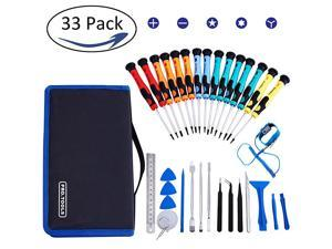 Tools Kit Precision Screwdriver SetElectronic Devices Pry Open DIY Computer Tool Kits for PhonesComputersPCTabletsPadsiPad ProWatch