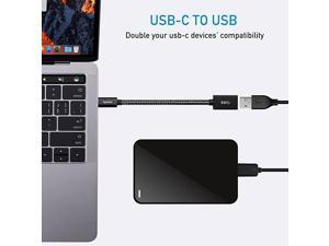 USB C to USB Adapter 2 Pack USBC to USB 30 AdapterUSB TypeC to USBThunderbolt 3 to USB Female Adapter OTG Cable Compatible with MacBook Pro 20182017 MacBook Air 2018 and More