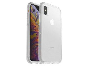 Symmetry Clear Series Case for iPhone Xs iPhone X Retail Packaging Stardust Silver FlakeClear