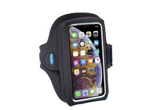Armband for iPhone 11 Pro X Xs 8 7 with OtterBox Defender LifeProof Case Fits Galaxy S8 S9 S10e with Large Case For Running Working Out SweatResistant