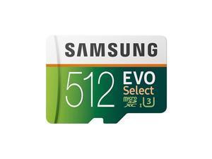 MB-ME512GA/AM) 512GB 100MB/s (U3) MicroSDXC Evo Select Memory Card with Adapter
