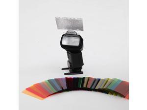 Color Gel Kit Filter 30ps wGelsBand Reflector for Canon Nikon Olympus Pentax Yongnuo Neewer Godox Speedlite