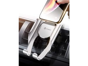 Easy Car Phone Mount, Upgraded Stable Air Vent Phone Holder for Car, Cell Phone Car Mount Fit for iPhone SE 11 Pro Max Xs Max XR X 8 7 6s Plus Samsung S20 S10 S9 Note 20 Note10 LG Google Etc.