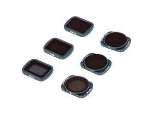 Filters Compatible with OSMO Pocket 1 and Pocket 2 4K Gimbal Handheld Camera Set Multi Coated Filters Pack Accessories 6 Pack ND4 ND8 ND16 ND4CPL ND8CPL ND16CPL