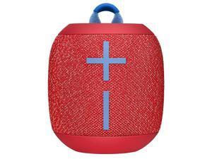 WONDERBOOM 2, Portable Wireless Bluetooth Speaker, Big Bass 360 Sound, Waterproof / Dustproof IP67, Floatable, 100 Ft Range - Radical Red