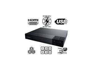 All Region Free Blu Ray A B C and DVD Player and 6 feet hdmi Cable Bundle