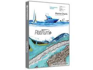 Platinum Plus 630P+ East Gulf of Mexico Marine Charts on SDMSD
