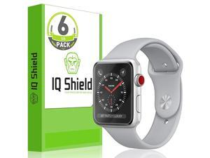 Shield Screen Protector Compatible with Apple Watch 38mm Apple Watch Series 3 2 16PackUltimate AntiBubble Clear Film