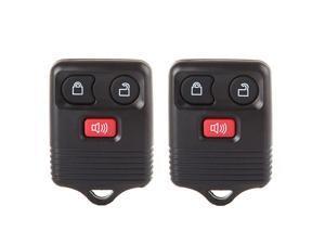 Replacement fit for 2X 3 Button Keyless Entry Remote Transmitter Control Key Fob Clicker Ford Mazda Lincoln Mercury Series CWTWB1U212 CWTWB1U331 CWTWB1U345 GQ43VT11T