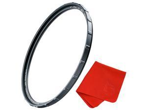 62mm X2 UV Filter for Camera Lenses UV Protection Photography Filter with Lens Cloth MRC8 Nanotec Coatings UltraSlim Traction Frame WeatherSealed by