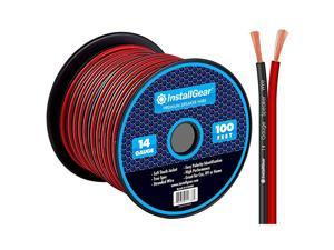 14 Gauge AWG 100ft Speaker Wire Cable RedBlack