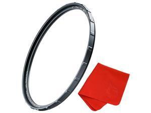 55mm X2 UV Filter for Camera Lenses UV Protection Photography Filter with Lens Cloth MRC8 Nanotec Coatings UltraSlim Traction Frame WeatherSealed by