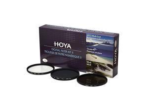 62mm HMC UVCircular Polarizer ND8 3 Digital Filter Set with Pouch