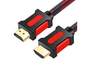 HDMI Cable Supports 1080p UHD FHD 3D Ethernet Audio Return Channel for Fire TVHDTVXboxPS3 32Ft10M Red