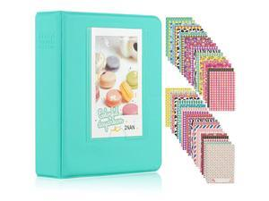 64 Pockets Mini Photo Album for Fujifilm Instax Mini 7s 8 8+ 9 25 26 50s 70 90 Instant Camera Name Card 64 Pockets Mint