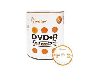 100 Pack DVD+R 47gb 16x Logo Blank Data Video Movie Recordable Disc 100 Disc 100pk