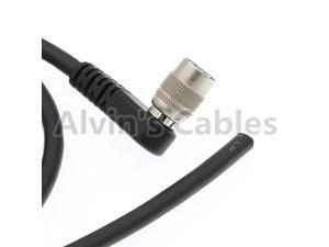 Trigger Strobe PWS Cable for TIS GigE Camera Hirose 6 Pin Female Right Angle to Open End Cable for Basler