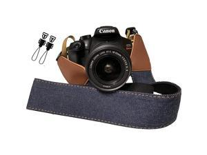 Jeans Camera Strap Real Denim Belt for All DSLR Camera Denim Style Universal SLR Strap Neck Shoulder Camera Strap for Canon NikonPentax Sony Fujifilm and Digital Camera