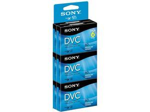 DVM60PRR/6C 6-Pack 60-Minute Premium DVC with Hangtab