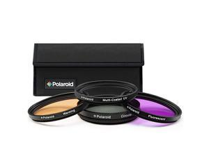 Optics 52mm 4Piece Filter Kit Set UVCPL Warming FLD includes Nylon Carry Case Compatible w All Popular Camera Lens Models