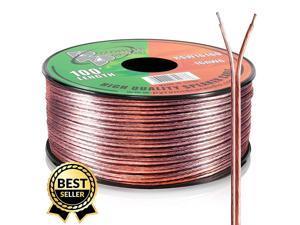 RSW16100 16 Gauge 100 Feet Spool of Speaker Zip Wire