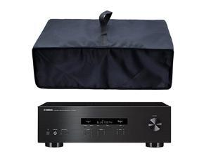 Black Antistatic Waterproof Dustproof Nylon Fabric Printer Cover Case Protector for Yamaha RS202BLRS500BLRN301BLRXV681BL Stereo ReceiverOPPO UDPSony STRDH540STRDH100 Stereo Receiver