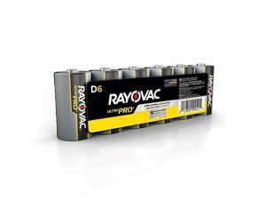 D Batteries Ultra Pro Alkaline D Cell Batteries 6 Battery Count