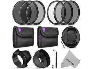 Altura Photo UV CPL ND4 Lens Filters Kit and Altura Photo ND Neutral Density Filter Set Photography Accessories Bundle for Canon and Nikon Lenses with a Filter Size
