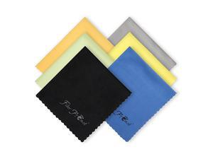 6 Pack MicroCleaning Cloths for ElectronicsPhoneScreenCameraBottles LensSquareEye GlassesWipesOpticalComputerLaptop and TV Sets Cleaner 6×7 inches