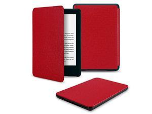 AllNew Kindle Basics 2019 Case CoverNot Fit Any Kindle Paperwhite Thinnest Lightweight Protective Shell Cover with Auto WakeSleep Fits for AllNew Kindle 10th Gen 2019 Released OnlyRed