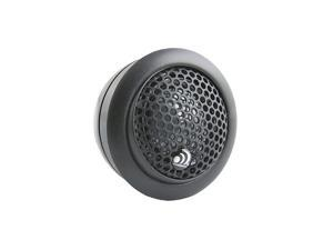 CT1 Silk Dome 110 Watt 25mm Car Audio Tweeter Set with Crossovers Surface Angle or Flush Mount Options