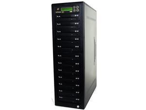 DVD Duplicator 1-11 Target Sata CD-DVD Burner Drive 24X Writer CD DVD DuplicationTower