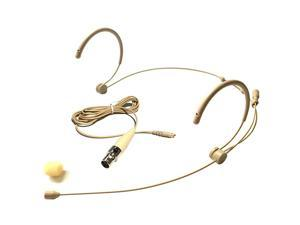 4016 Headset Headworn Microphone For SHURE Wireless System Detachable Cable With Mini XLR Ta4f Connector Omidirectional Mic