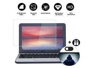 Tempered Glass Screen Protector Fit ASUS Chromebook C222 C213 C202 C201 C200 |ASUS VivoBook E203 E200 9H Super Hardness Prevent Scratched by Keys Watch Kids Pets Not Fit Touch Screen