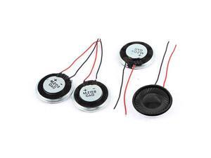 a15080600ux0275 Metal Shell Round Internal Magnet Speaker 2W 8 Ohm Pack of 4