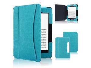 Case Fits AllNew Nook Glowlight Plus 78 Inch 2019 Release Folio Premium PU Leather Cover Case for BarnesNoble Nook Glowlight Plus 78 Inch Ereader Sky Blue