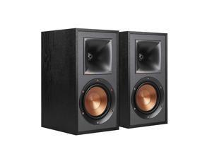 R-41M Powerful Detailed Bookshelf Home Speaker Set of 2 Black