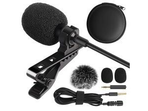 Electret Condenser 20 Audio Cable Transducer type Panasonic Lumix DMC-G6 Digital Camera External Microphone Vidpro XM-L Wired Lavalier microphone