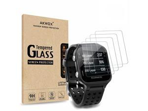 Pack of 4 Tempered Glass Screen Protector for Garmin Approach S20  03mm 25D High Definition 9H Premium Clear Screen Protective Film for Garmin Approach S20