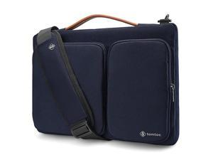 360 Protective Laptop Shoulder Bag for 2020 New Dell XPS 15 15inch MacBook Pro A1990 A1707 Surface Laptop 3 15 Waterproof Ultrabook Case for 14 Acer HP Dell Chromebook ThinkPad X1 Carbon