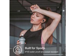 Bluetooth 50 Deep Bass True Wireless Earbuds Builtin Mic Tranya T3 Sports Wireless Headphones 68 Hours Continuous Playtime 60 Hours Total Playtime with Charging Case IPX5 Water Proof